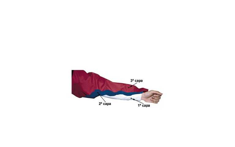 Vestimenta por capas para montañismo